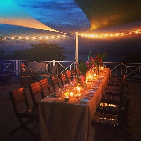 La Mansion Inn: Reception on the terrace
