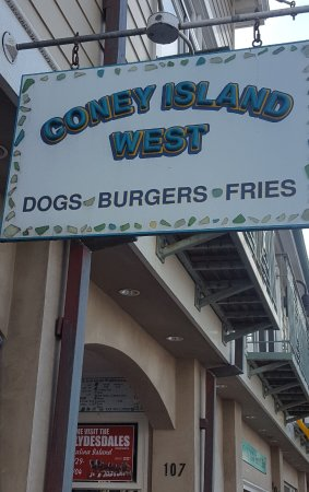 Coney Island West: Easy to find on the main drag