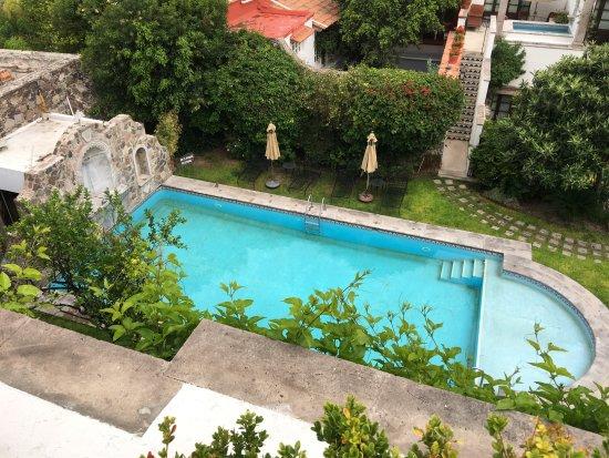 Belmond Casa de Sierra Nevada: View of pool from private rooftop terrace