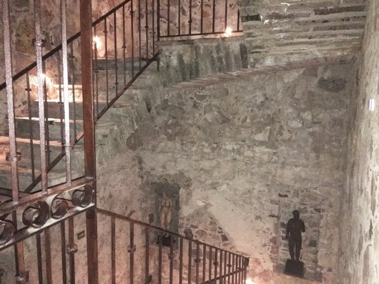 Belmond Casa de Sierra Nevada: Stone staircase off our room, leading to private rooftop terrace