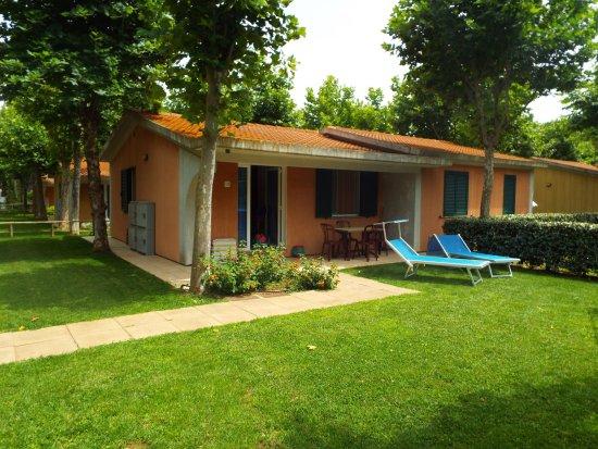 bungalow de luxe foto di camping village baia azzurra club castiglione della pescaia. Black Bedroom Furniture Sets. Home Design Ideas
