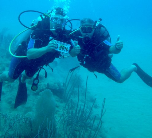 Northern Coast Diving: Alex and Hector at Paradise site