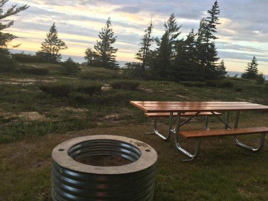 Carp Lake, มิชิแกน: Tent campsite