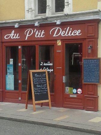 Ródano-Alpes, Francia: Les lasagnes fait maison...un regal.denis