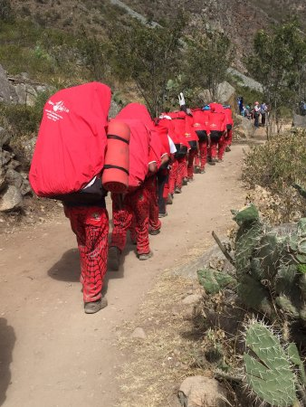 Llama Path: The most amazing group of men made sure we were comfortable along the trek
