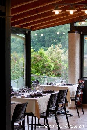 Restaurant la cascade la valla en gier restaurant avis for Restaurant la cascade