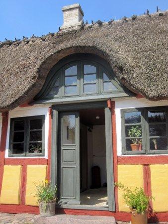 The Funen Village: house belonging to a weaver