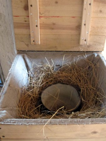 The Funen Village: Nesting box (usually kept in the kitchen)