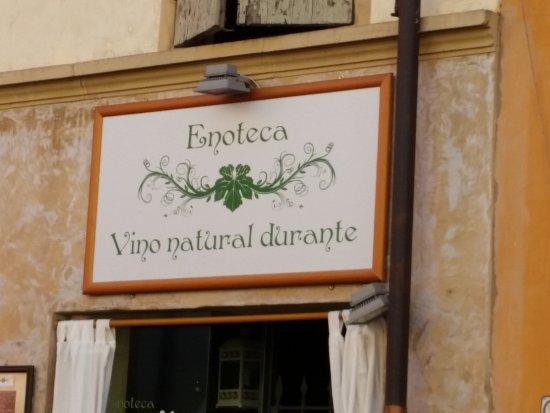 l'Enoteca Vino Natural Durante