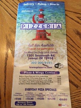 Lewes Pizzeria Family Restaurant