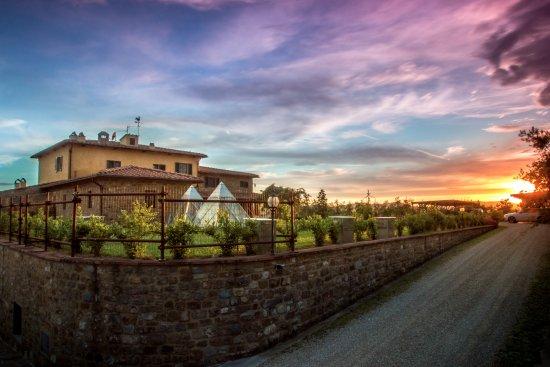 Agriturismo Savernano: The sunsets were amazing
