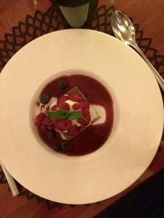 La Maison Complete excellent dessert to complete an exquisite meal - picture of la