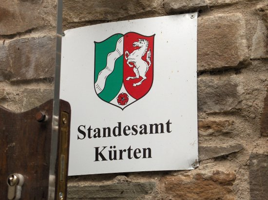 Kurten, Germania: Gut Hungenbach - hier kann man auch heiraten!