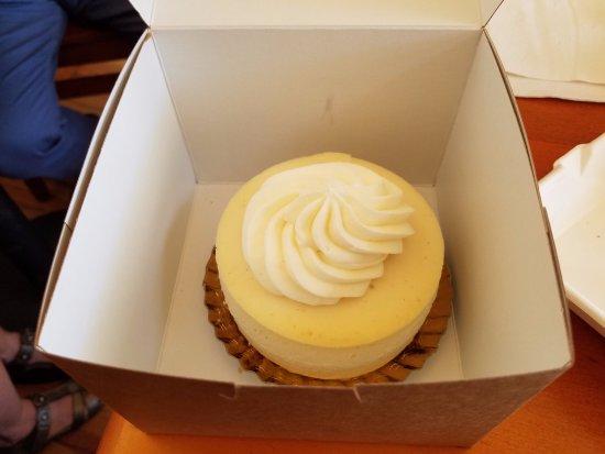 Torrington, WY: Vanilla Bean individual cheesecake that will serve two or three!