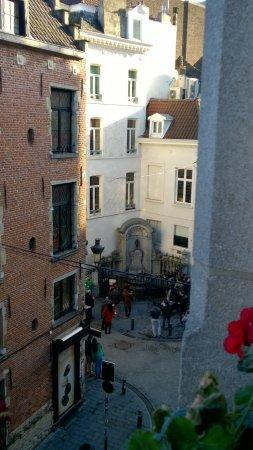 La Vieille Lanterne : vista do quarto em que ficamos