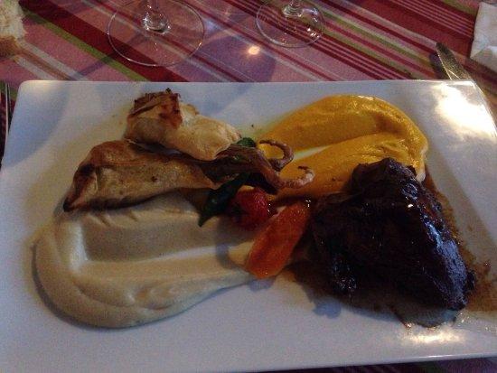 Sevignacq-Meyracq, Fransa: Foie gras marbre - pigeonneau - saint Jacques
