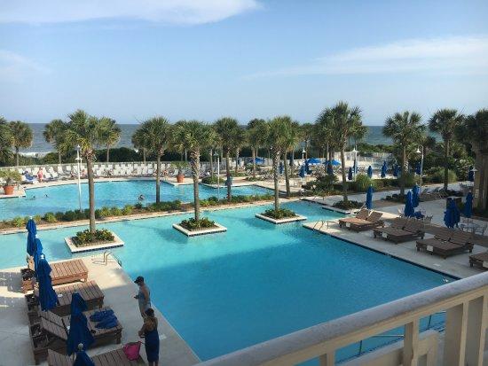Myrtle Beach Marriott Resort & Spa at Grande Dunes: Gorgeous pools!!!