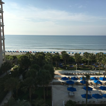 Myrtle Beach Marriott Resort & Spa at Grande Dunes: Ocean view!