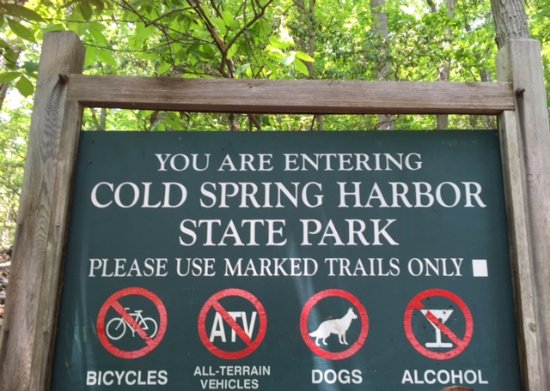 Come to Cold Spring Harbor State Park!