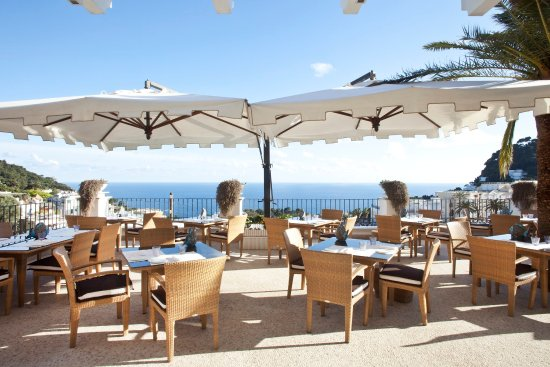Capri Tiberio Palace: Restaurant