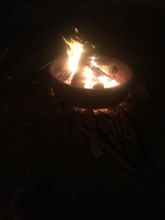 Yogi Bear's Jellystone Park Camp-Resort Luray: Fire!!!!