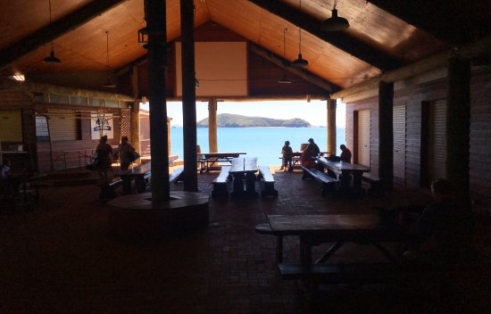 Great Keppel Island, Australie : Great Keppel Hideaway Reef Bar & Bistro.