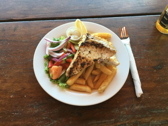 Great Keppel Island, Australie : An enjoyable meal in great surroundings!
