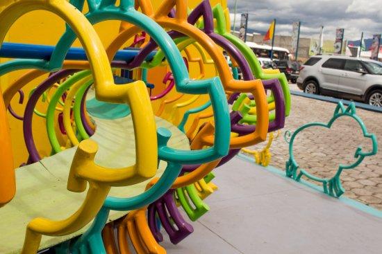 Atuntaqui, Ekwador: Plaza de juegos infantiles