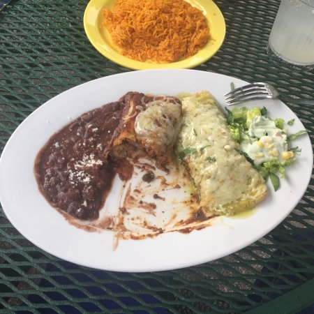 Brown Deer, WI: Steak enchiladas