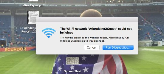 Atlantis Inn Luxury B&B: wifi not reliable