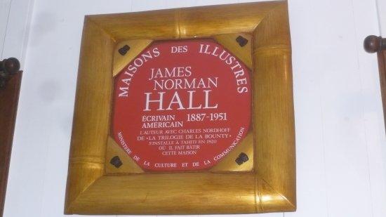 La Maison James Norman Hall