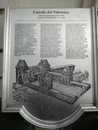 Province de Turin, Italie : Castello del Valentino