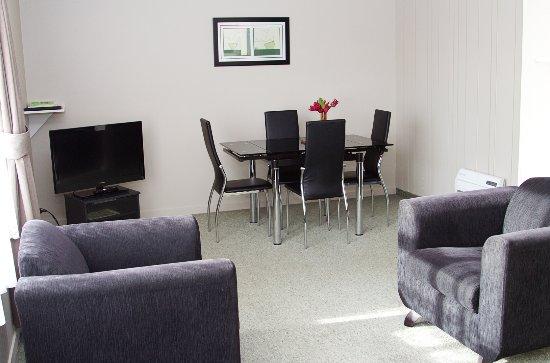 Gore, Νέα Ζηλανδία: lounge and dinning room