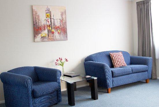 Gore, Selandia Baru: lounge room