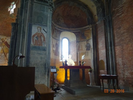 Inside the church - Picture of Sacra di San Michele, Sant\'Ambrogio ...
