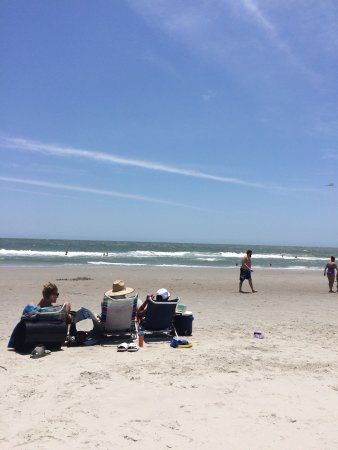 Ocean Waves And Beach