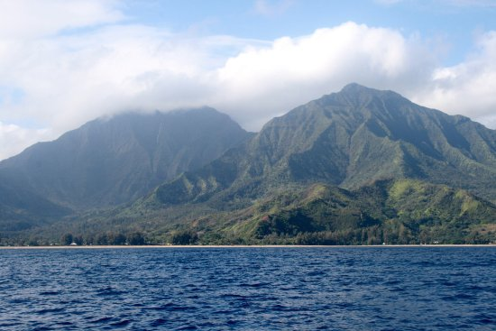 Kilauea, Hawái: View from the boat