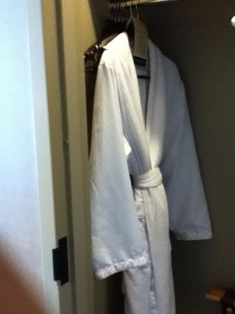 Omni Dallas Hotel: Comfy robe for guest use