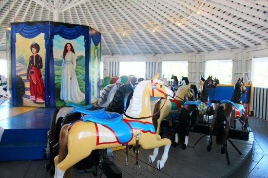 Historic 1890's carousel