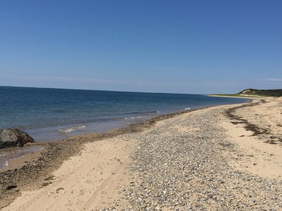 Great Island Trail: miles of beach