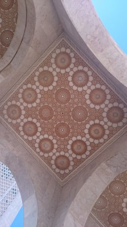 Kazablanka, Fas: The Hassan II Mosque Jan.2016