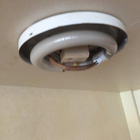 Ramada Austinburg/Ashtabula: Hall lighting