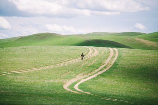 Провинция Орхон, Монголия: Amazing hills reminiscent of Windows XP in the Orkhon Valley.