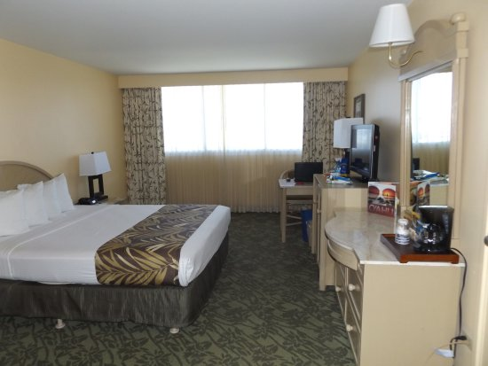 Room With King Size Bed At The Best Western Plaza Hotel
