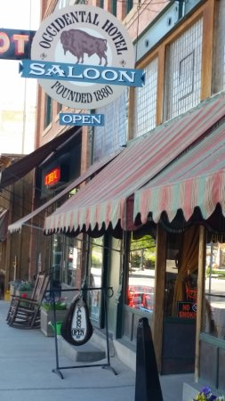 The Occidental Saloon: outside