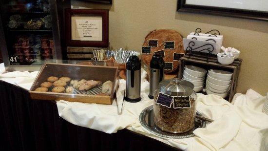 Sisters, Oregón: Breakfast room