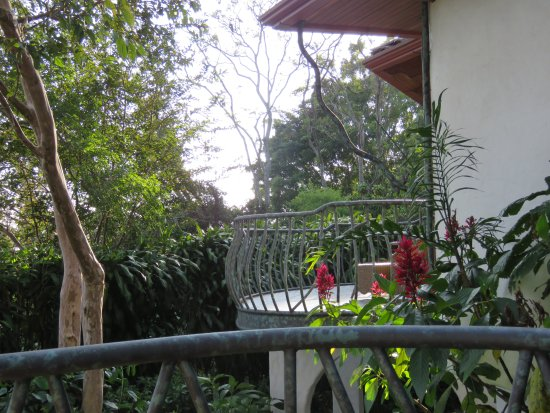 Santa Barbara, Costa Rica: Villa balcony overlooking the coffee plantation