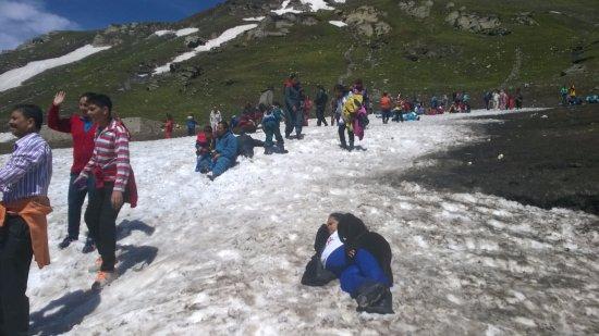 Rohtang P Snow At