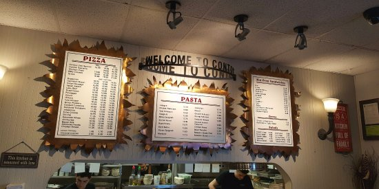 Lake Stevens, WA: Contos menu boards