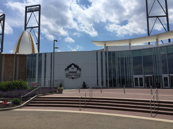 The Pro Football Hall of Fame, Canton, OH